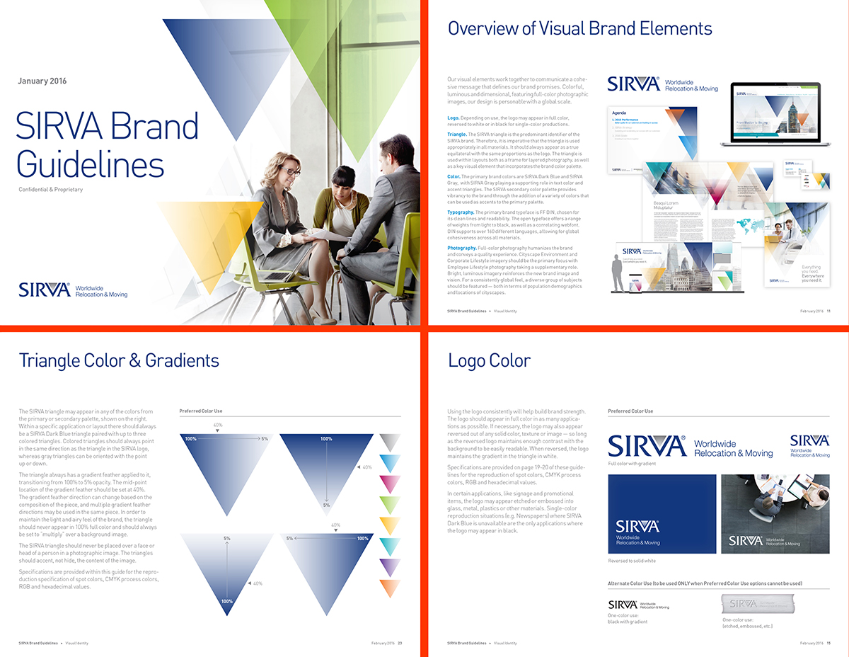 SIRVA brand guidelines